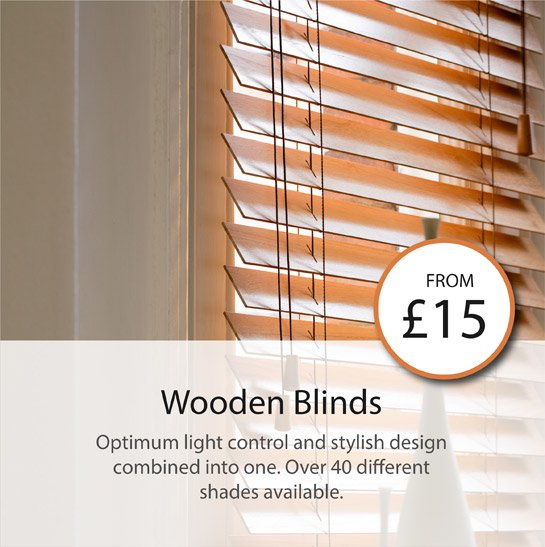 optimum light control and stylis design combined into one. over 40 different shades available.